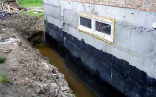 Гидроизоляционные материалы для подвалов