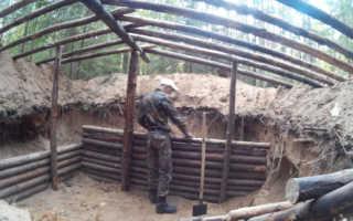 Землянка шалаш: что это такое и как строятся укрытия