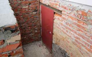 Вход в цокольный этаж и подвал: как сделать вход своими руками