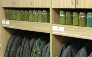 Армейская кладовая: как хранят военные снаряжения, оружие и амуницию