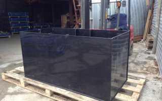 Металлический погреб: монтаж железной конструкции