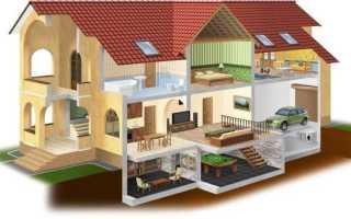 Проекты домов с подвалом: планировка, применяемые технологии, варианты использования подвальных помещений, достоинства и недостатки
