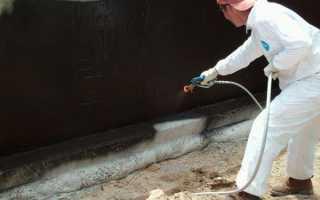 Гидроизоляция погреба (изнутри и снаружи): как сделать своими руками