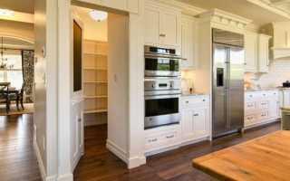 Планировка кухни с кладовкой: как сделать перепланировку