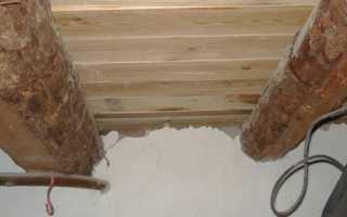 Гидроизоляция подполья в деревянном доме — способы