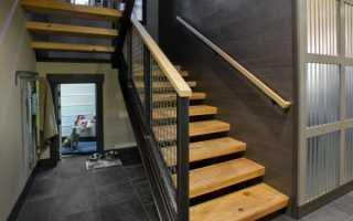 Лестница в погребе гаража: выбор конструкции и материала