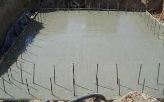 Фундамент для дома с подвалом — технология строительства