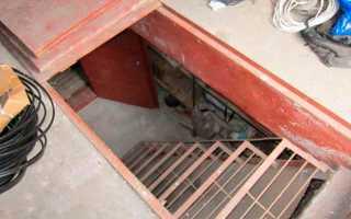 Погреб в гараже своими рукакми — особенности строительства