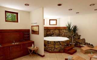 Отделка цокольного этажа внутри — варианты дизайна помещения