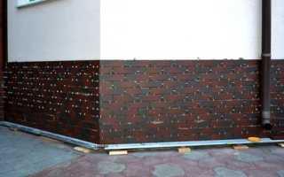 Цокольная плитка — особенности материала и правильный монтаж