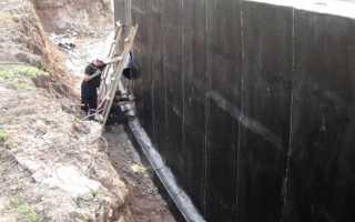 Гидроизоляция стен подвала — способы устройства и материалы
