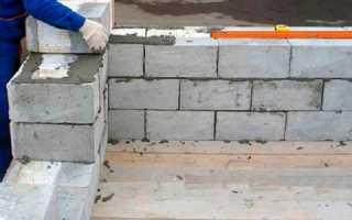 Погреб из шлакоблоков: как построить своими руками