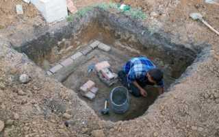 Погреб с высоким уровнем грунтовых вод: как строить незаглубленный подвал своими руками