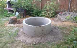 Погреб из бетонных колец — особенности строительства