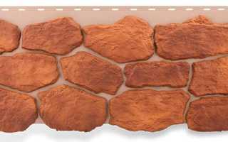 Цокольные панели под камень — отделка загородного дома