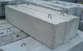 Блоки бетонные для стен подвалов — строительство из ФБС