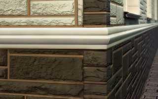 Цокольный сайдинг: размеры панелей разных производителей