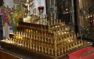 Кладовка для церковной утвари: как называется православный чулан