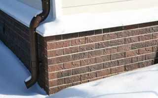 Облицовка цоколя дома клинкерной плиткой, натуральным и искусственным камнем, пластиковыми панелями, штукатуркой