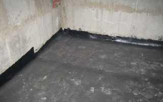 Пол в подвале:  глинобитный, бетонный и на лагах
