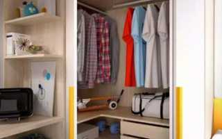 Угловая кладовка: фото и как обустроить в квартире