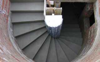 Винтовая лестница в погреб: расчёт параметров