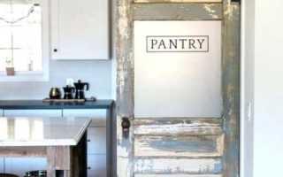 Дизайн двери в кладовку своими руками: фото и пример интерьеров чулана
