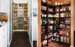 Дизайн кладовой в квартире: как сделать в коридоре, в спальне и в прихожей