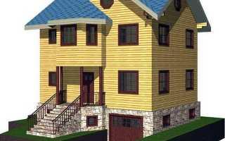 Проекты домов из пеноблоков с цокольным этажом: общие характеристики, обустройство цокольного этажа и основания, технология кладки