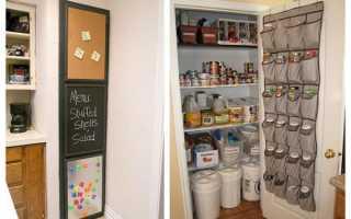 Кладовка на кухне: фото и как вписать чулан в интерьер