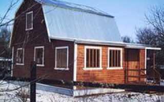 Отделка цоколя дома профлистом: характеристики и технология монтажа