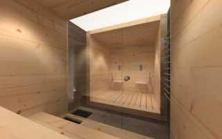 Сауна в подвале частного дома: как сделать своими руками