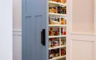 Как правильно установить дверь в кладовку