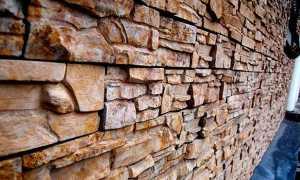 Цокольная плитка «Рваный камень» — простой способ монтажа