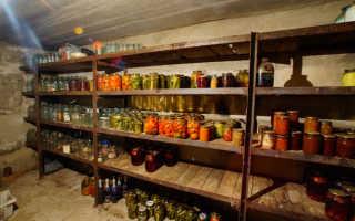 Кладовка для заготовок: как обустроить для хранения на зиму