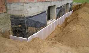 Утепление подвала. Наружная отделка подземной части стен, отмостки и цоколя. Внутренние работы, гидро- и теплоизоляция