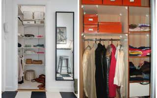 Встроенные кладовки в квартире: хранение в удобных гардеробных