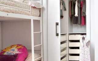 Спальня в кладовке: как сделать в чулане без окна