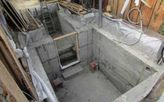 Бетонный цоколь: как выполняется заливка бетоном цоколя