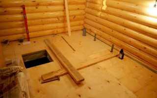 Подвал под баней — строительство хозяйственного помещения