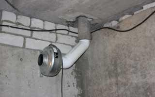 Вытяжка в погребе в гараже: как правильно сделать вентиляцию