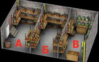 Полки в погребе своими руками: изготовление деревянных стеллажей и конструкций из стального уголка, обустройство подвала
