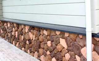 Искусственный камень для цоколя — характеристики и монтаж