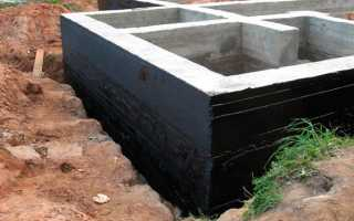 Гидроизоляция цоколя снаружи — материалы и порядок работ