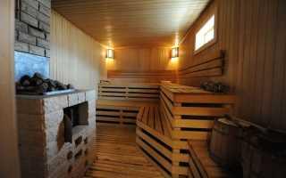 Баня в цокольном этаже дома: обустройство осушителей, канализации и дымохода, создание слива и установка печки