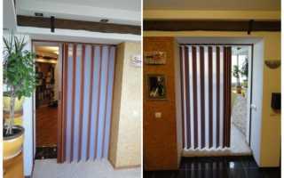 Двери гармошки для кладовки в квартире