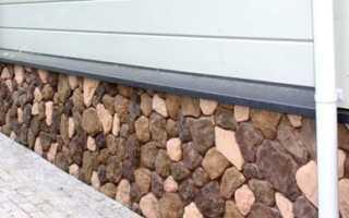 Цокольный камень — выбор и технология облицовки дома