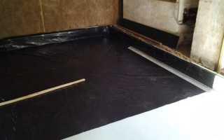 Узлы гидроизоляции подвала: нанесение на узел подвальных помещений материалов