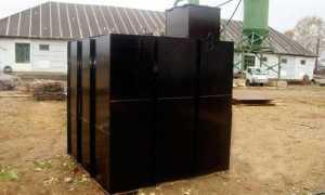 Металлический погреб — устройство, монтаж, эксплуатация