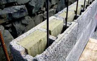 Подвал из керамзитобетонных блоков: как возвести цокольный этаж из керамзитоблоков